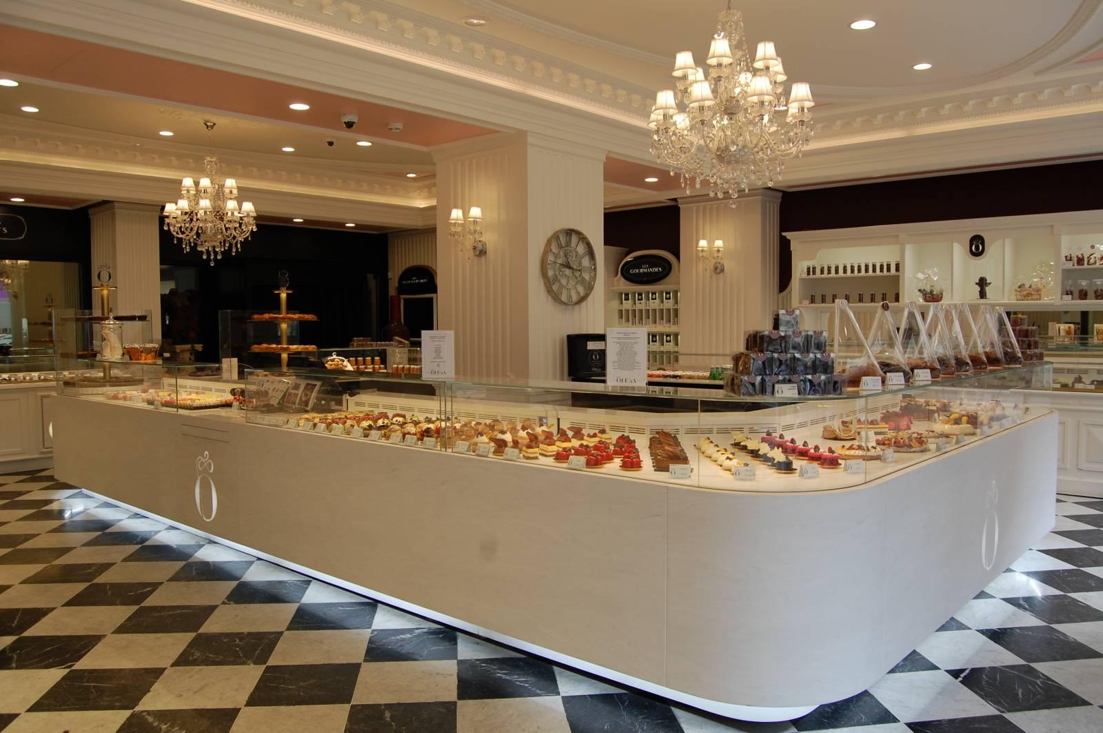 Agencement d\u0027une Pâtisserie/Chocolaterie haut de gamme à